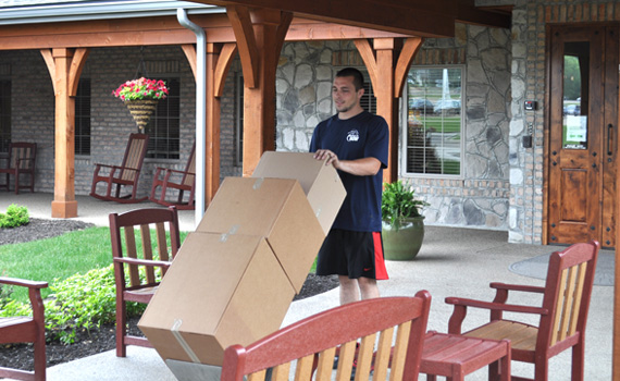 Moving help for assisted living communities