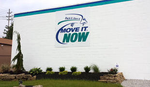 Temporary moving and storage facility in Akron Ohio
